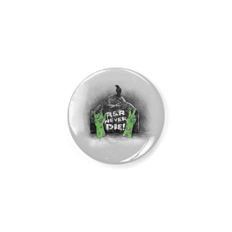 R&R never dies Accessories Button by magicmagic