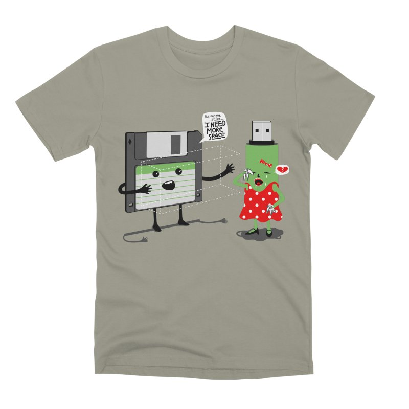 I need more space Men's Premium T-Shirt by magicmagic