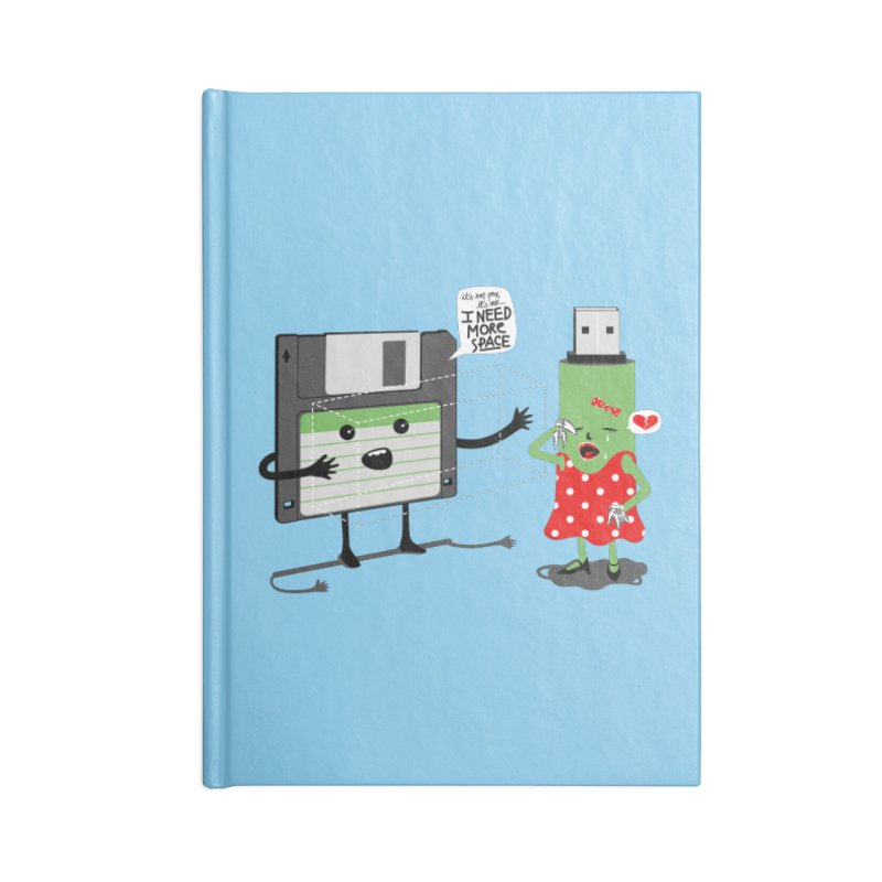 I need more space Accessories Blank Journal Notebook by magicmagic