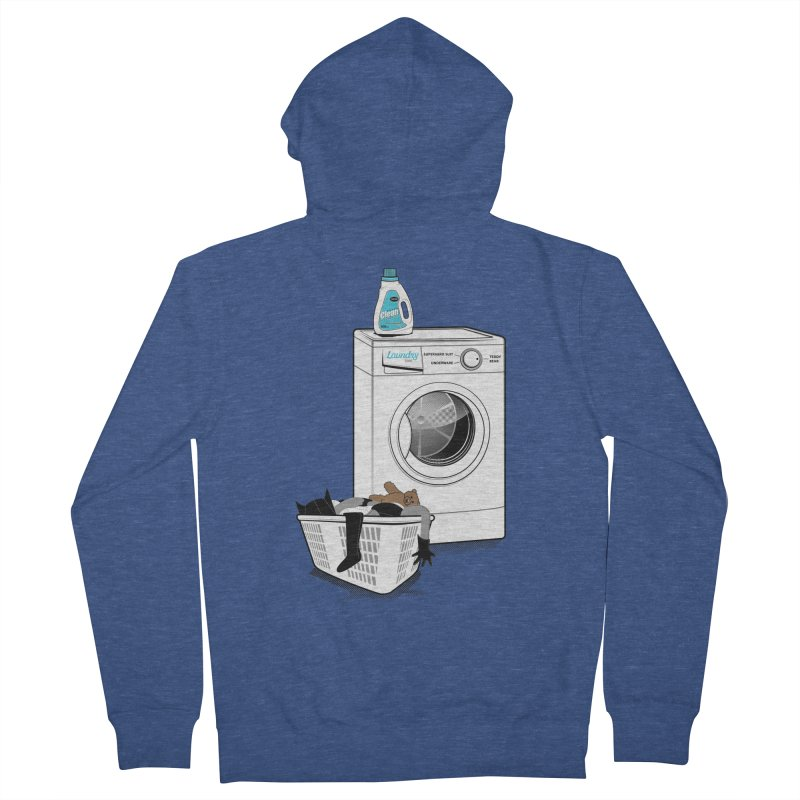 Laundry time Women's Zip-Up Hoody by MagicMagic Artist Shop