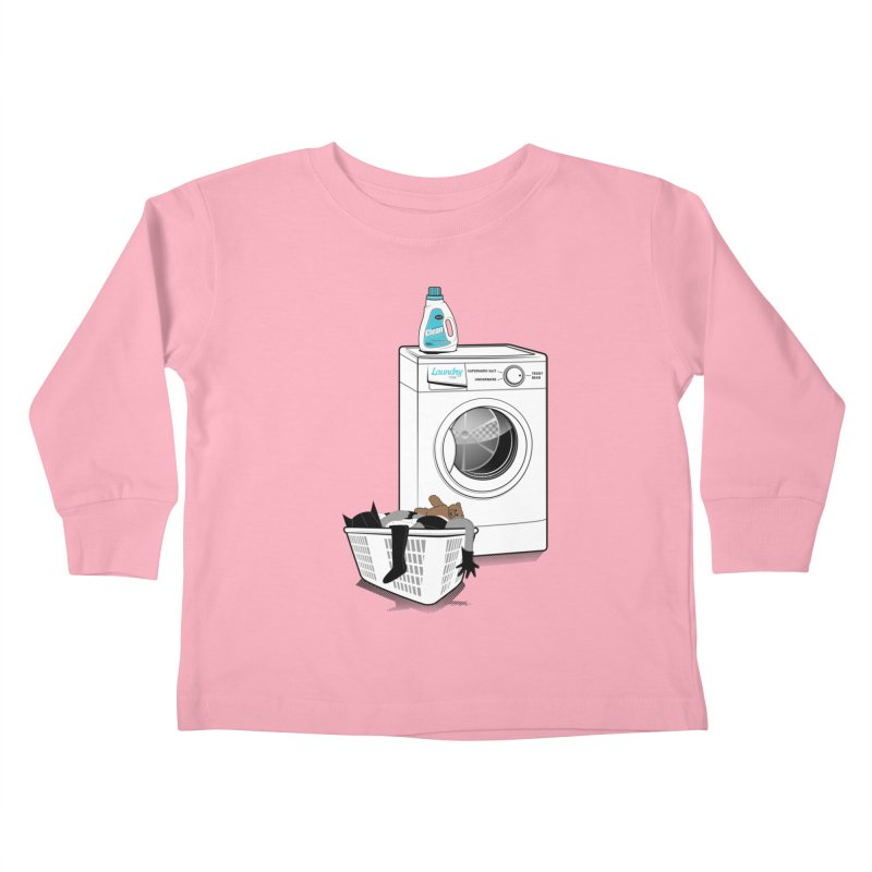 Laundry time Kids Toddler Longsleeve T-Shirt by MagicMagic Artist Shop