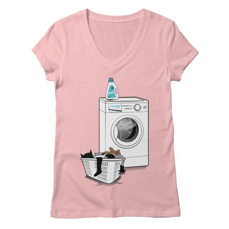 Laundry time Women's V-Neck by MagicMagic Artist Shop