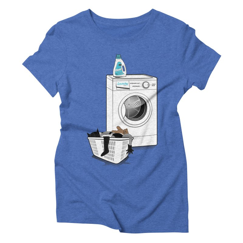 Laundry time Women's Triblend T-shirt by MagicMagic Artist Shop