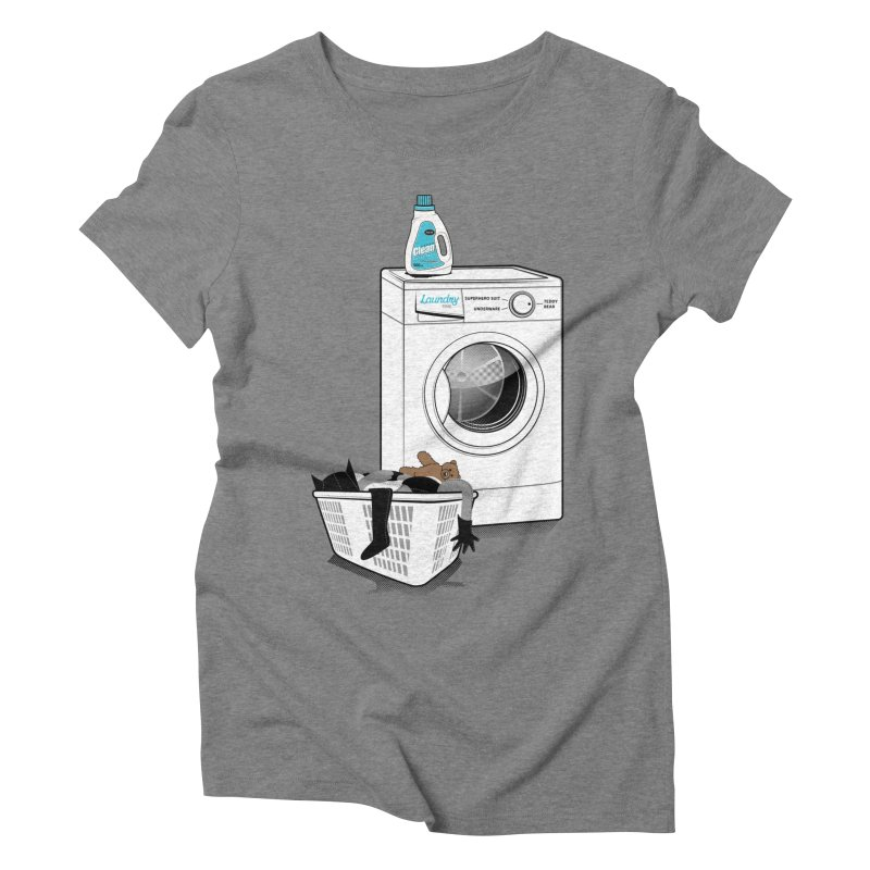 Laundry time Women's Triblend T-shirt by MagicMagic Artist Shop