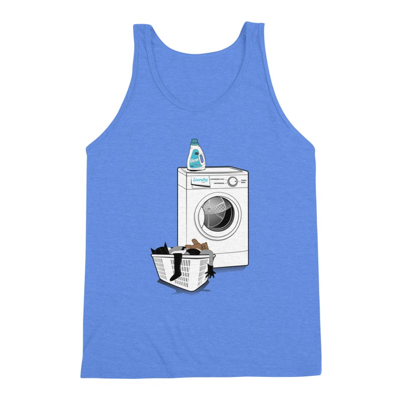Laundry time Men's Triblend Tank by MagicMagic Artist Shop
