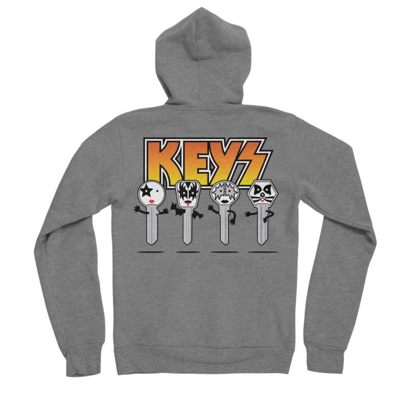 Keys Men's Sponge Fleece Zip-Up Hoody by magicmagic