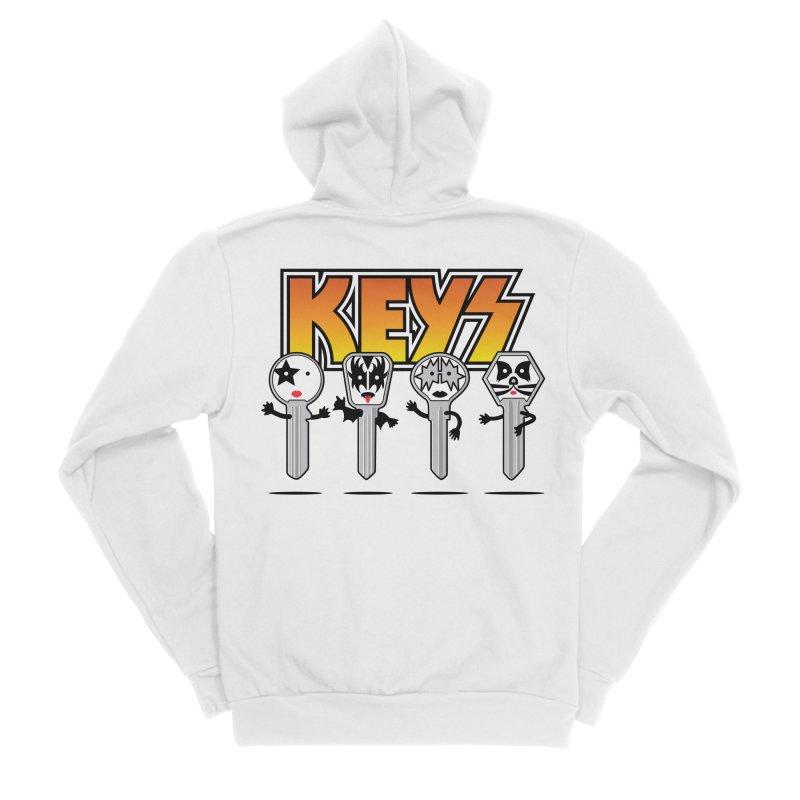 Keys Women's Sponge Fleece Zip-Up Hoody by magicmagic