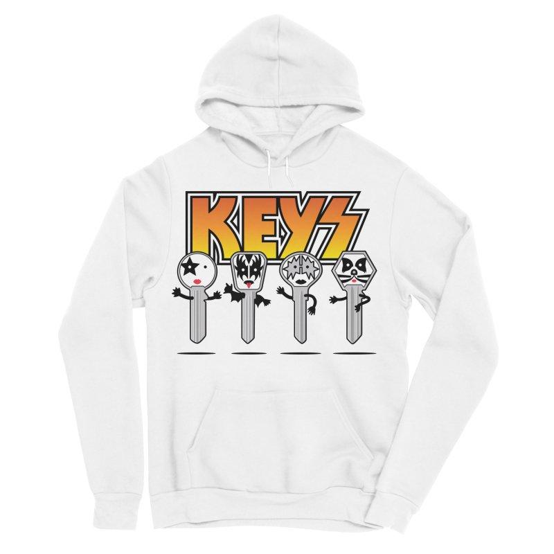 Keys Men's Sponge Fleece Pullover Hoody by magicmagic