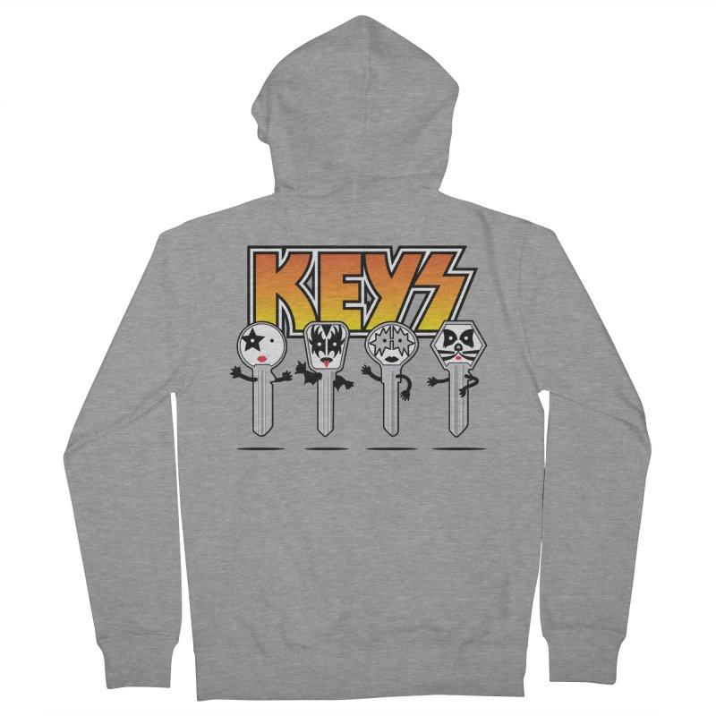 Keys Men's Zip-Up Hoody by MagicMagic Artist Shop