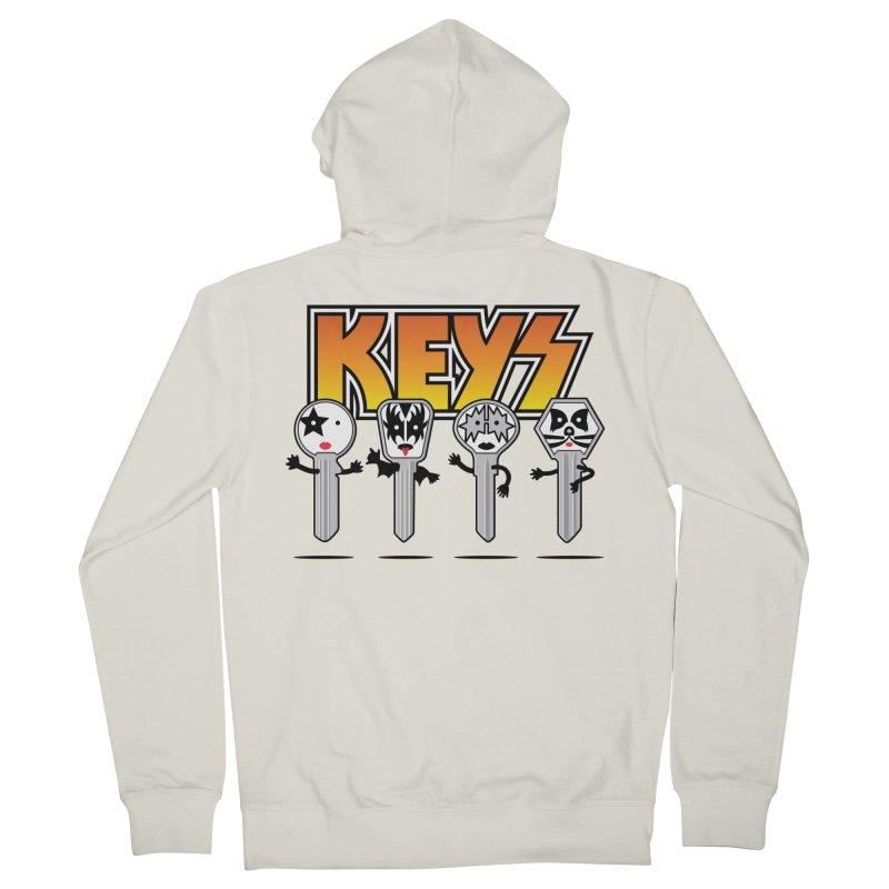 Keys Men's French Terry Zip-Up Hoody by magicmagic