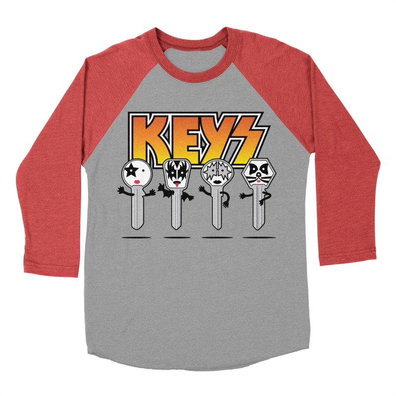 Keys Men's Baseball Triblend T-Shirt by MagicMagic Artist Shop