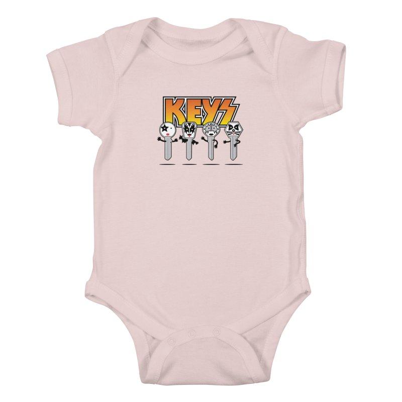 Keys Kids Baby Bodysuit by magicmagic