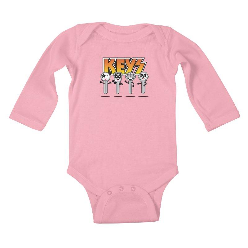 Keys Kids Baby Longsleeve Bodysuit by magicmagic