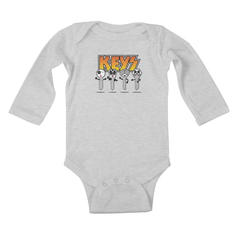 Keys Kids Baby Longsleeve Bodysuit by MagicMagic Artist Shop