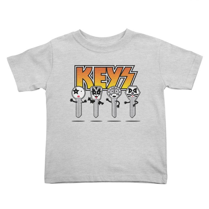Keys Kids Toddler T-Shirt by magicmagic