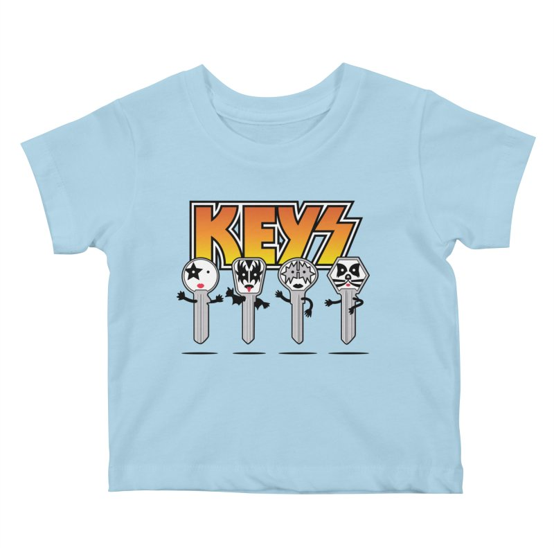 Keys Kids Baby T-Shirt by magicmagic