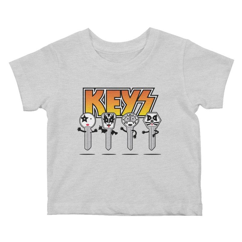 Keys Kids Baby T-Shirt by magicmagic