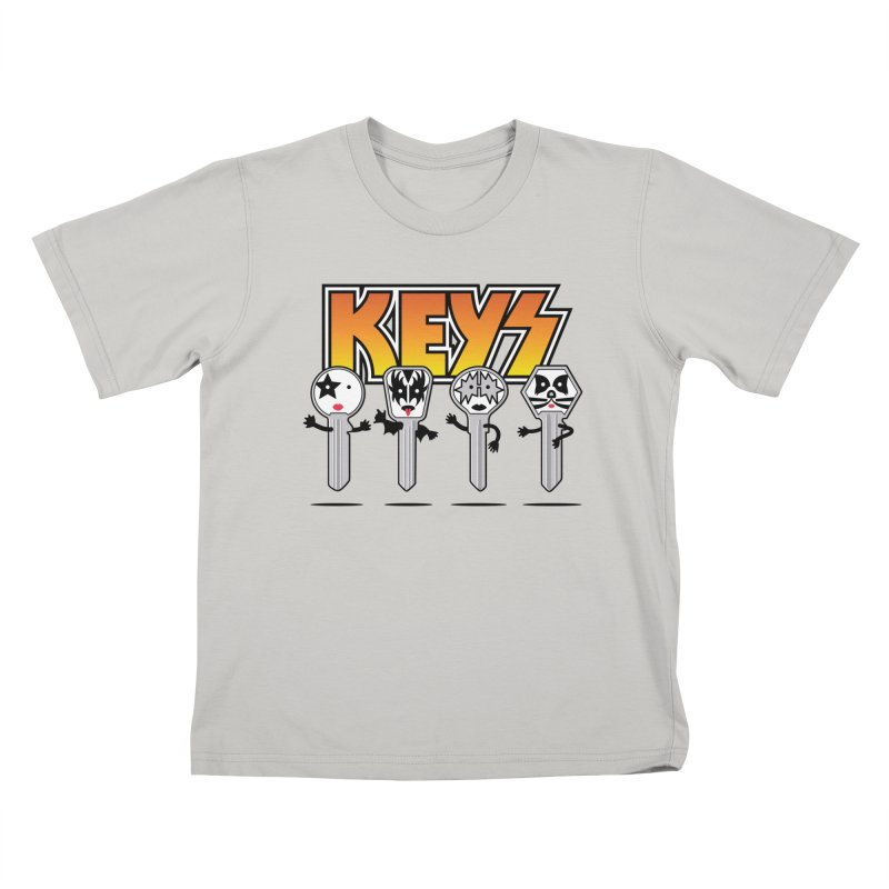 Keys Kids T-shirt by MagicMagic Artist Shop
