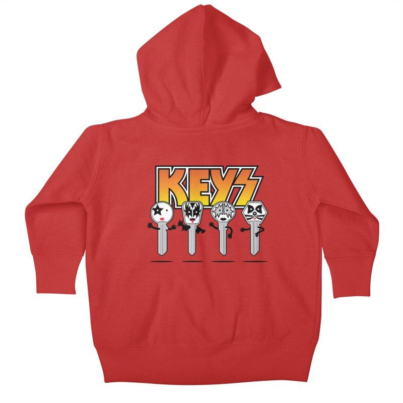 Keys Kids Baby Zip-Up Hoody by magicmagic