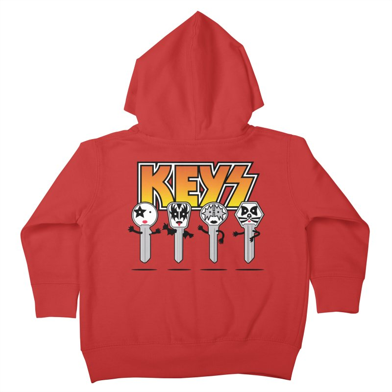 Keys Kids Toddler Zip-Up Hoody by magicmagic