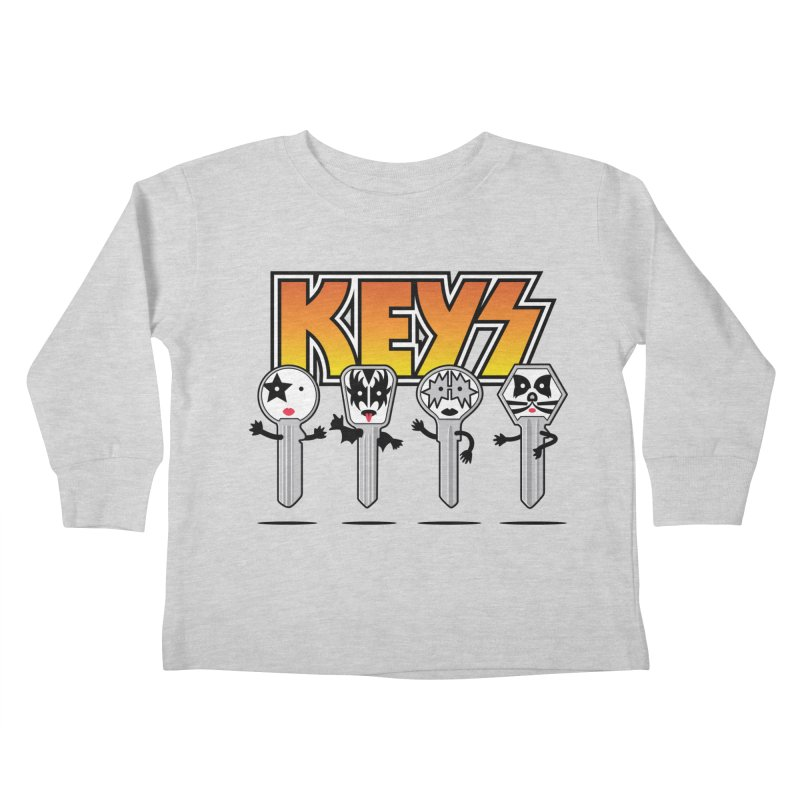 Keys Kids Toddler Longsleeve T-Shirt by magicmagic