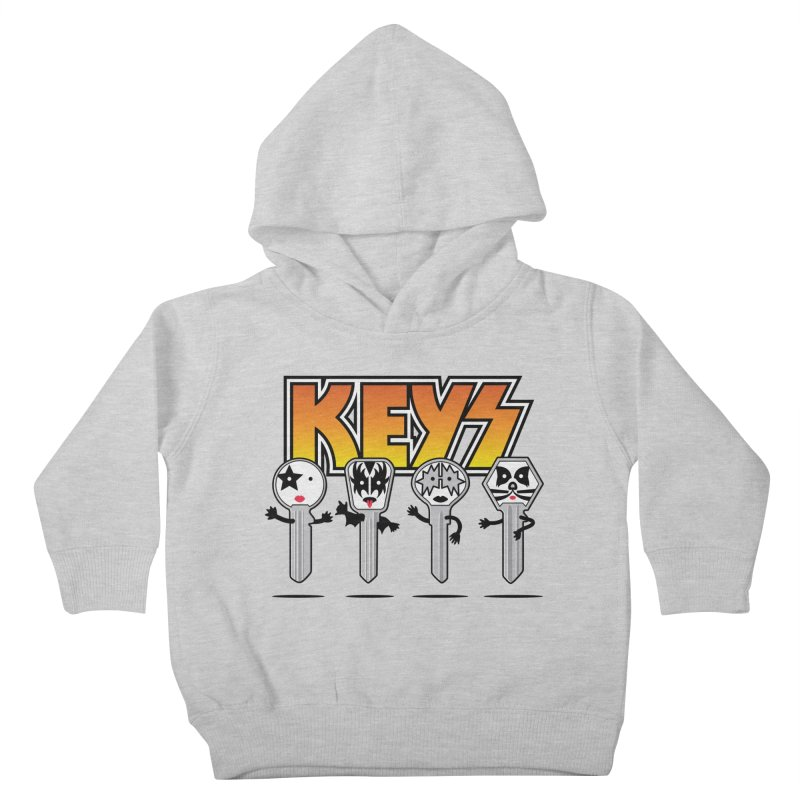 Keys Kids Toddler Pullover Hoody by MagicMagic Artist Shop