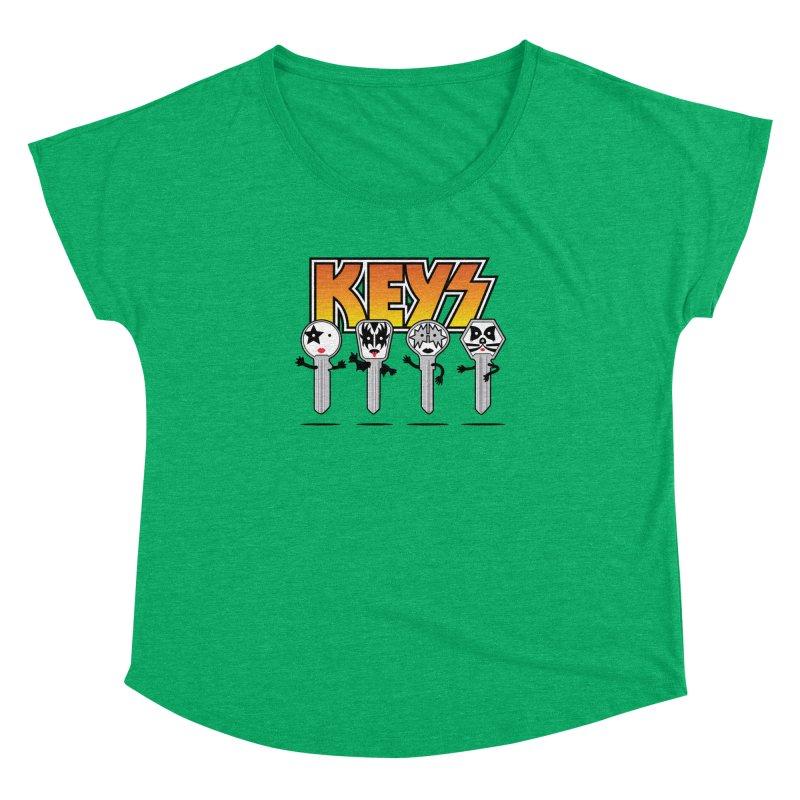 Keys Women's Dolman Scoop Neck by magicmagic