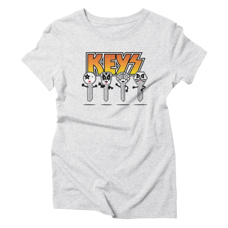 Keys Women's Triblend T-Shirt by MagicMagic Artist Shop