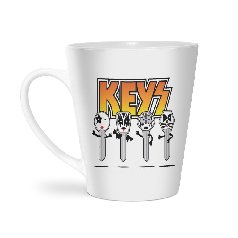 Keys Accessories Latte Mug by magicmagic