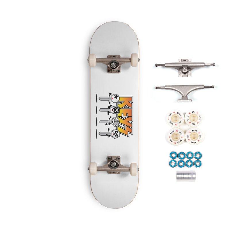 Keys Accessories Complete - Premium Skateboard by magicmagic