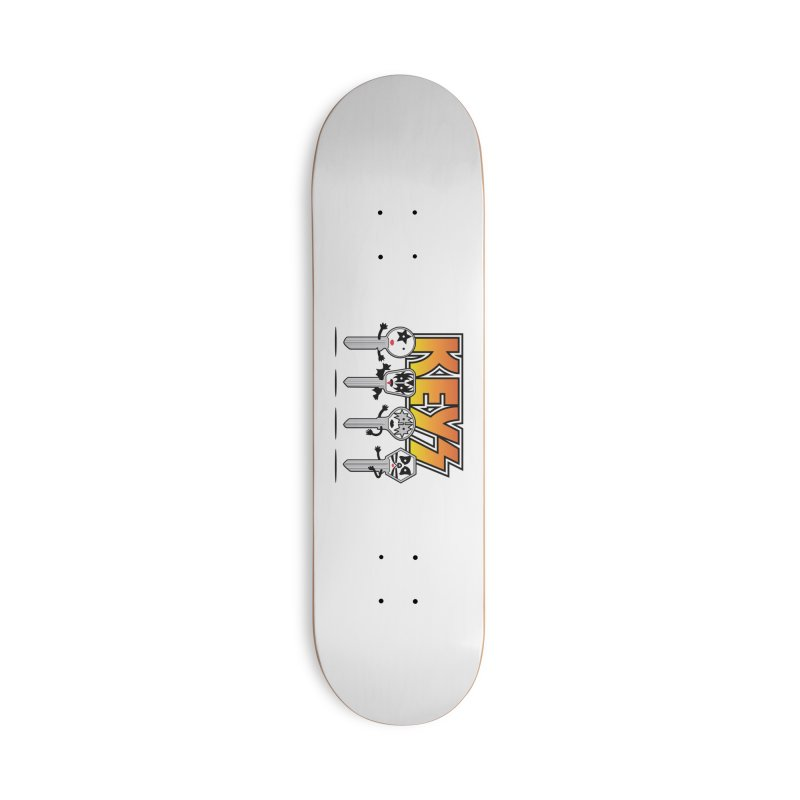 Keys Accessories Deck Only Skateboard by magicmagic