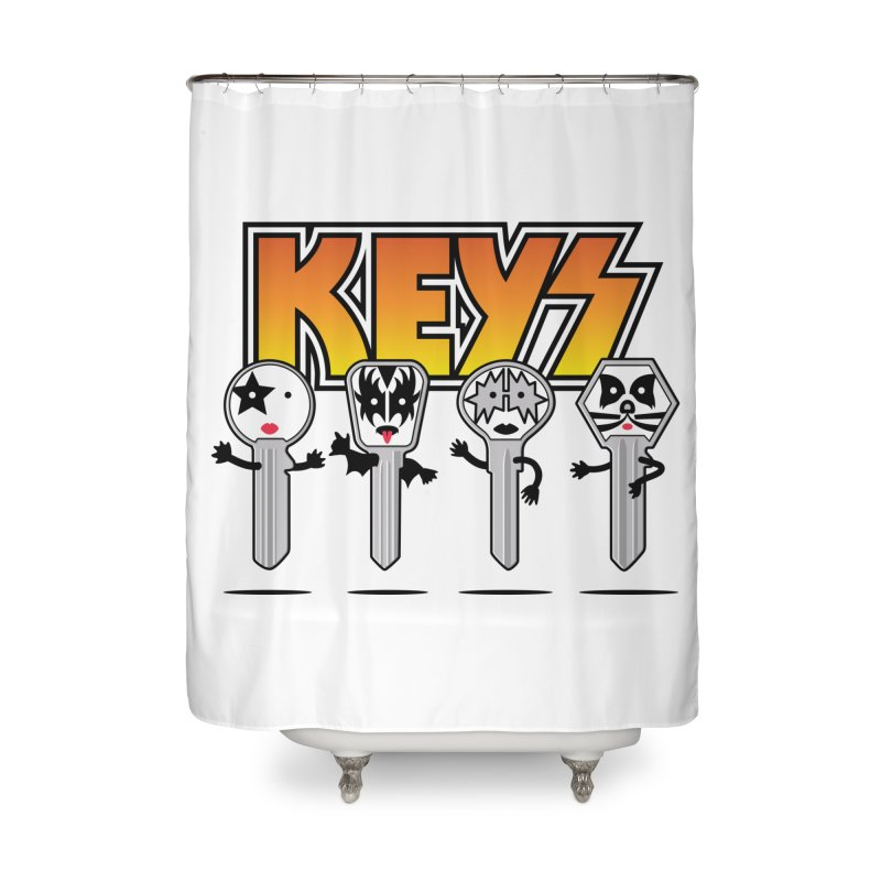 Keys Home Shower Curtain by MagicMagic Artist Shop
