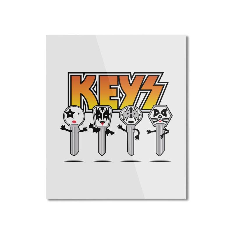 Keys Home Mounted Aluminum Print by magicmagic