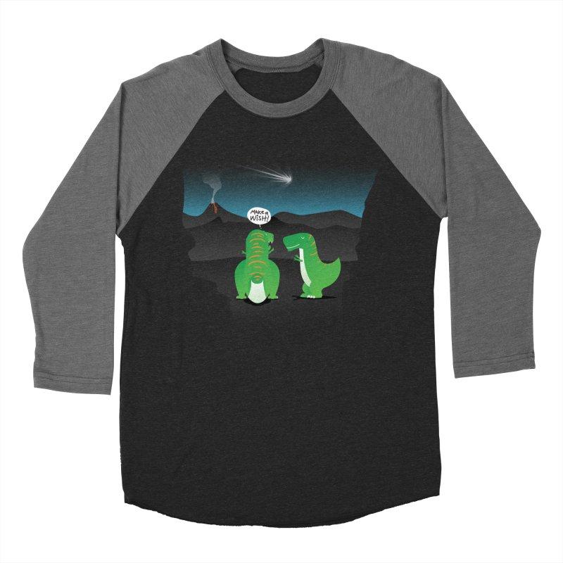 Make a wish Women's Baseball Triblend T-Shirt by MagicMagic Artist Shop