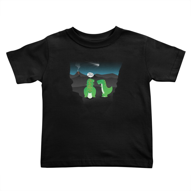 Make a wish Kids Toddler T-Shirt by MagicMagic Artist Shop