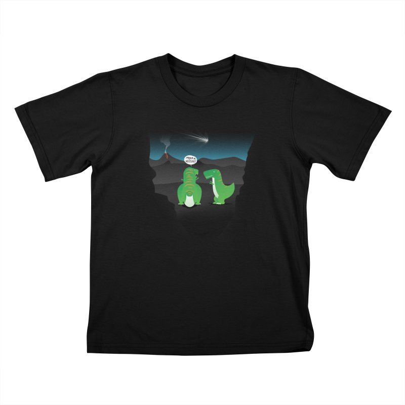Make a wish Kids T-shirt by MagicMagic Artist Shop