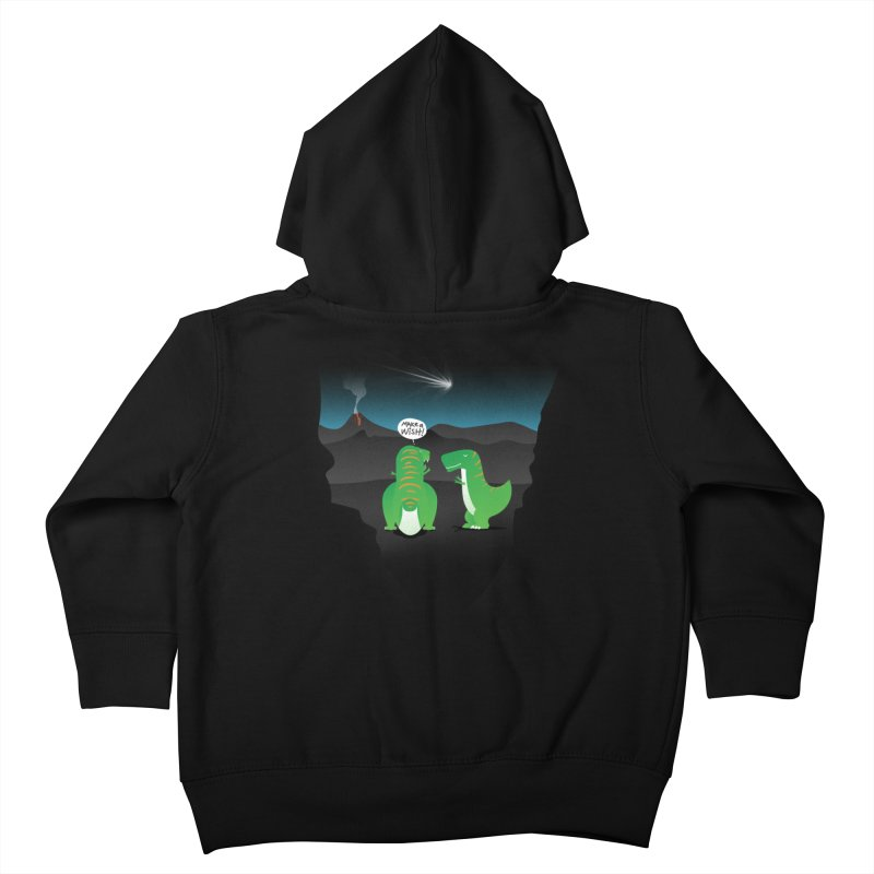 Make a wish Kids Toddler Zip-Up Hoody by MagicMagic Artist Shop