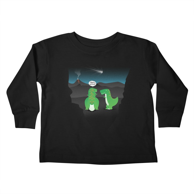 Make a wish Kids Toddler Longsleeve T-Shirt by magicmagic