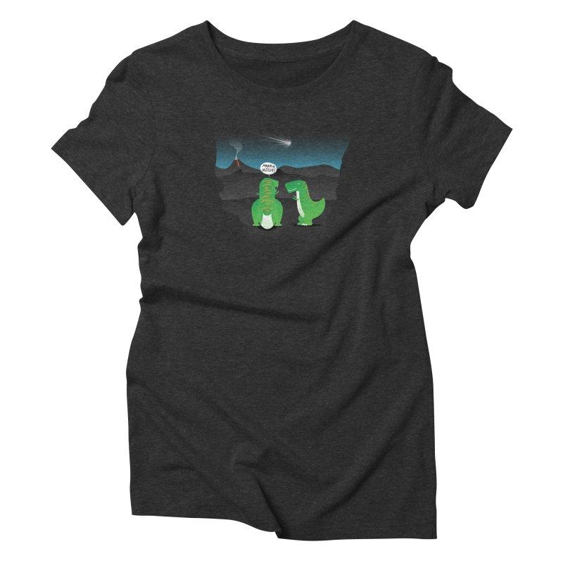 Make a wish Women's Triblend T-Shirt by magicmagic