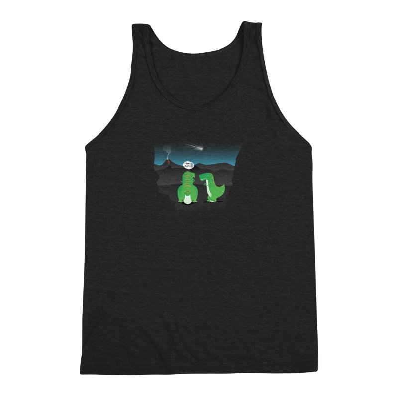 Make a wish Men's Triblend Tank by MagicMagic Artist Shop