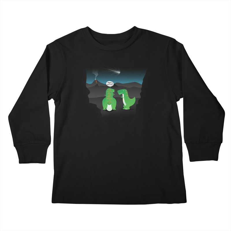 Make a wish Kids Longsleeve T-Shirt by magicmagic
