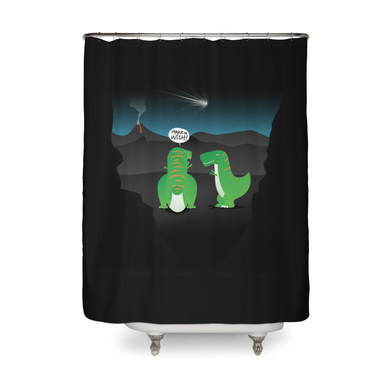 Make a wish Home Shower Curtain by MagicMagic Artist Shop