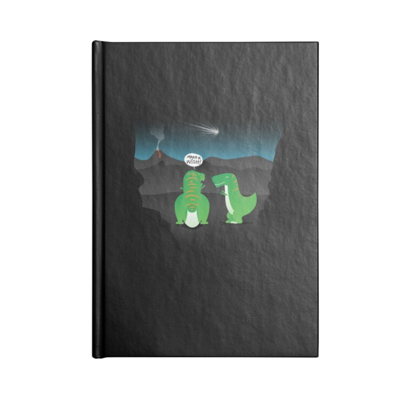 Make a wish Accessories Lined Journal Notebook by magicmagic