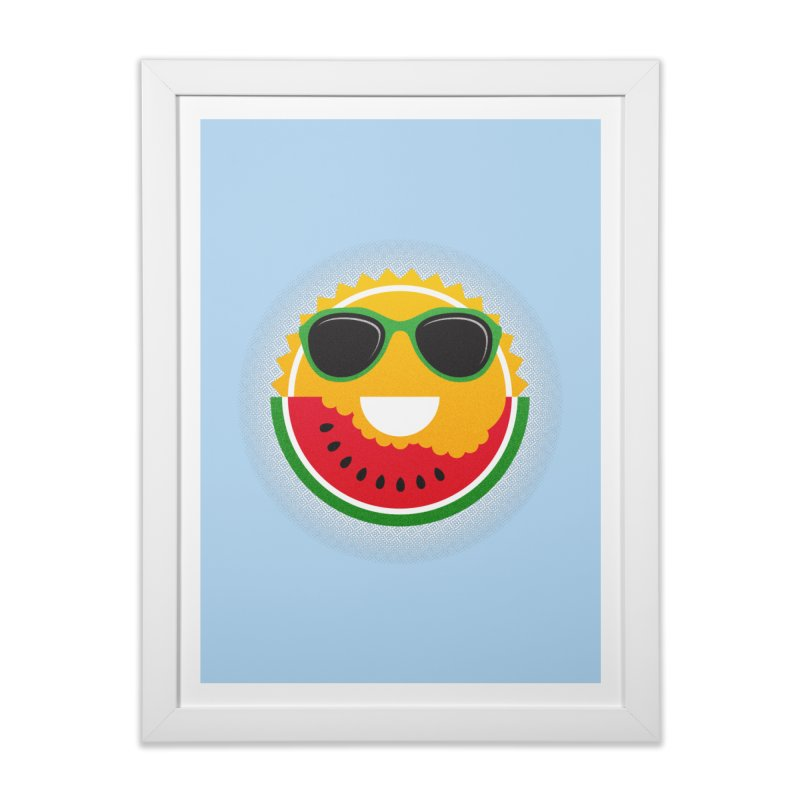 Sunny and tasteful Home Framed Fine Art Print by magicmagic