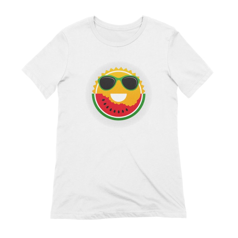 Sunny and tasteful Women's Extra Soft T-Shirt by magicmagic
