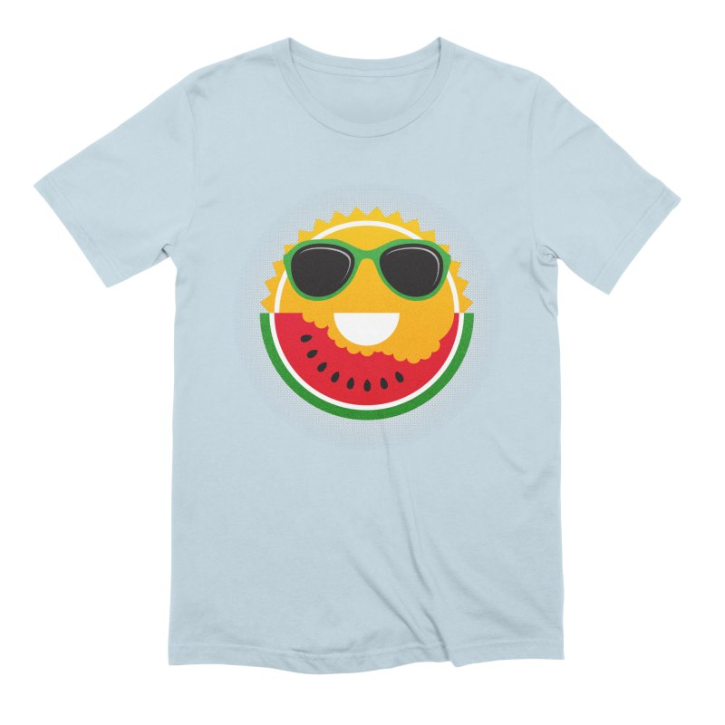 Sunny and tasteful Men's Extra Soft T-Shirt by magicmagic
