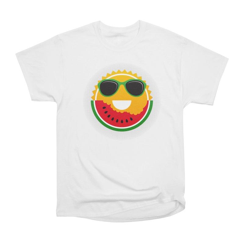 Sunny and tasteful Women's Heavyweight Unisex T-Shirt by magicmagic