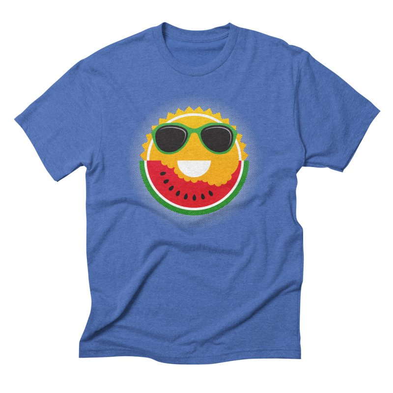 Sunny and tasteful Men's Triblend T-Shirt by MagicMagic Artist Shop