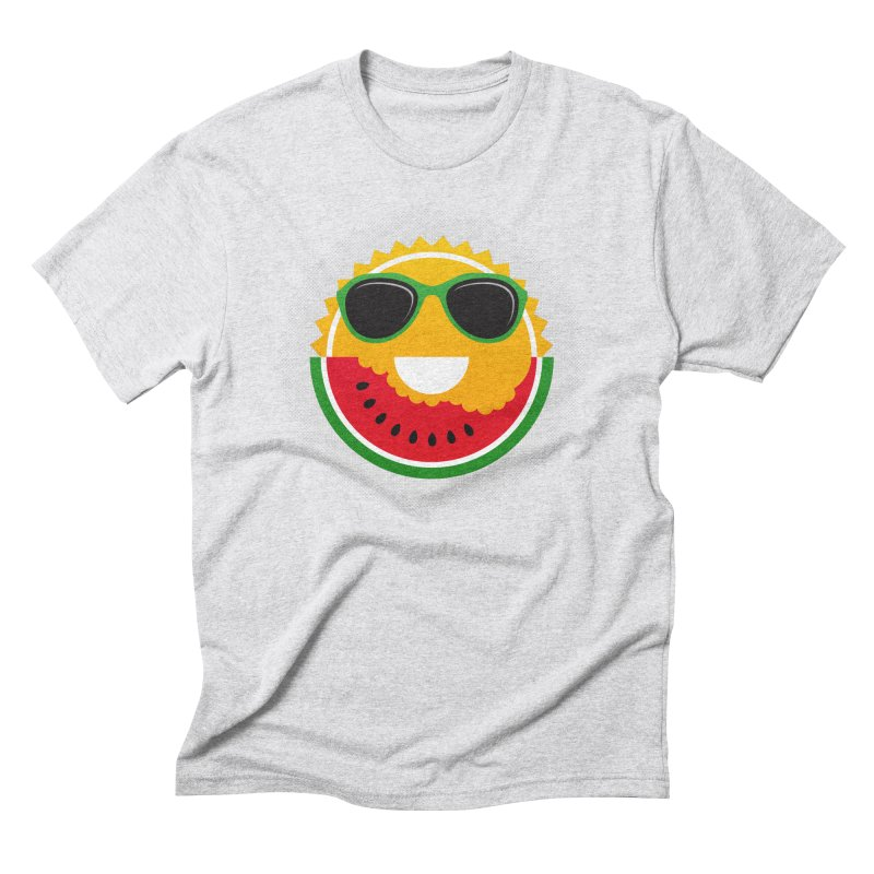Sunny and tasteful Men's Triblend T-Shirt by magicmagic