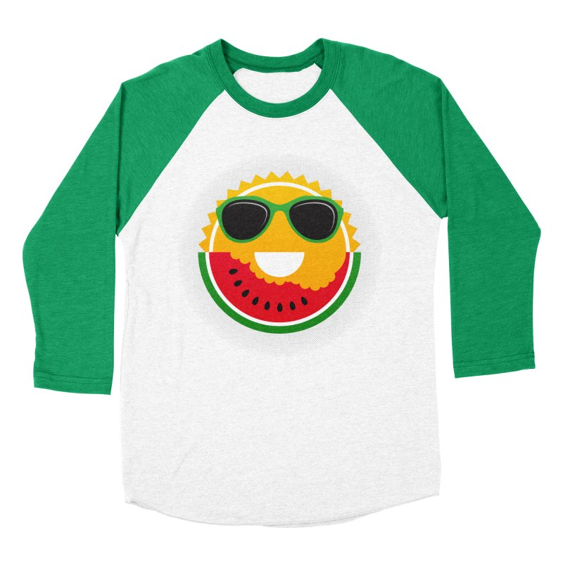 Sunny and tasteful Women's Baseball Triblend Longsleeve T-Shirt by magicmagic